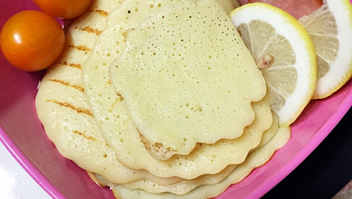 牛奶小松饼(By新浪微博@艺格)