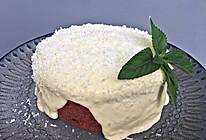 红丝绒奶盖爆浆奶酪蛋糕的做法