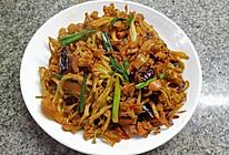 干锅有机花菜干的做法