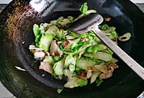 小儿菜炒肉的做法
