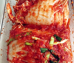 酸辣劲爽的韩国辣白菜的做法