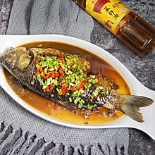 红烧鲫鱼#金龙鱼外婆乡小榨菜籽油 外婆的时光机#