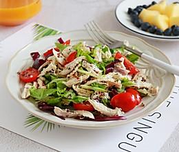 健康低卡—鸡丝沙拉的做法