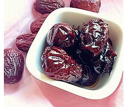 寒冷中的温暖--老姜红糖渍红枣的做法