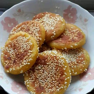 南瓜饼(电饼铛)