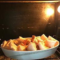 快手早餐--蜜豆吐司布丁的做法图解3