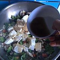 #菁选酱油试用#肉末杂蔬炖豆腐的做法图解12