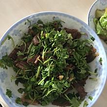 香菜凉拌牛肉