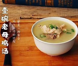 滋补益气的老母鸡汤的做法