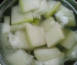 冬瓜淡菜汤(孕妇汤谱)消肿的做法