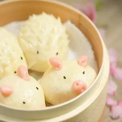 【微体兔菜谱】可爱的疯狂动物包来啦~