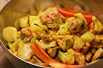 健康低卡——简易烤蔬菜
