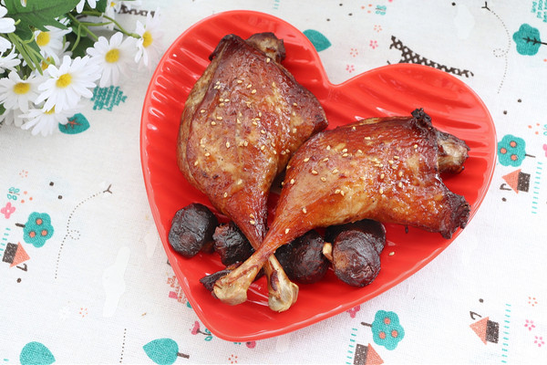 烤鸭腿(空气炸锅)的做法