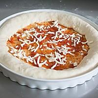 巨无霸披萨#宜家让家更有味#的做法图解13