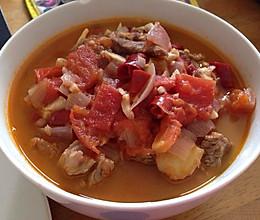 糙汉子版番茄炖牛肉的做法