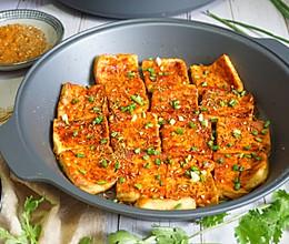 火爆街头的铁板豆腐,在家3元做1盘,秘制料汁教给你学会能摆摊的做法