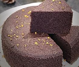 秋食:桂花黑米糕配银耳汤的做法