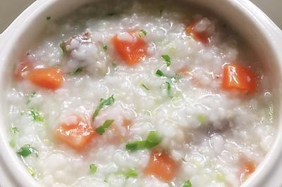 胡萝卜小米排骨粥
