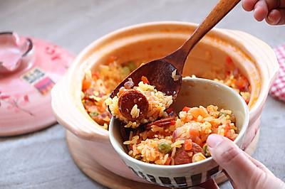 土锅菜系列--西班牙辣肠饭