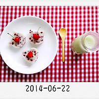 养生甜品【山药红豆糕】营养爱心早餐的做法图解12