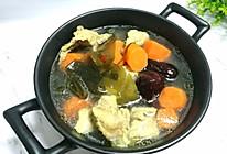 美味滋补的胡萝卜海带排骨汤的做法