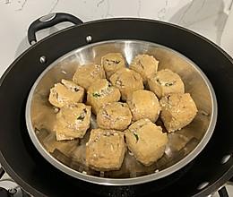 糯米酿豆腐卜的做法