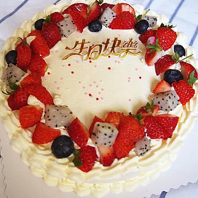 很容易上手的花环蛋糕--附详细蛋糕胚子步骤