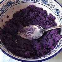 手撕紫薯吐司(一次发酵无需出膜)的做法图解4