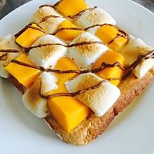 烤棉花糖芒果土司