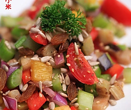 西芹红酒沙拉的做法