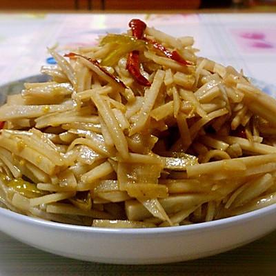 下饭菜―野山椒莲藕丝