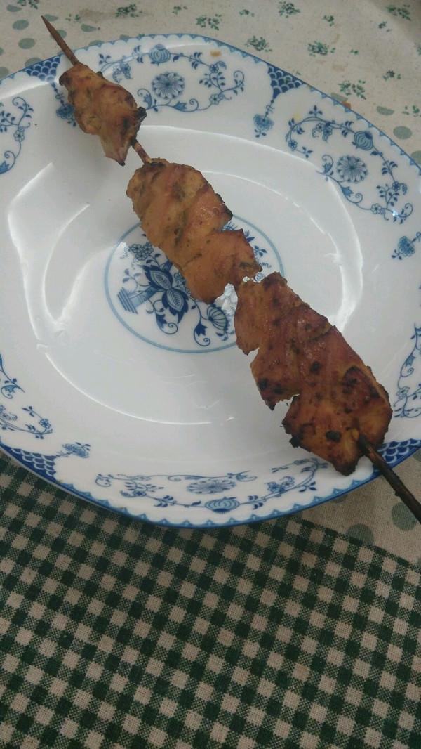橄露Gallo经典特级初榨橄榄油试用之烤鸡肉串的做法