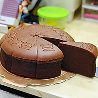 起司片棉花蛋糕 8吋無奶油、燙麵水浴烘烤(转载)的做法图解24