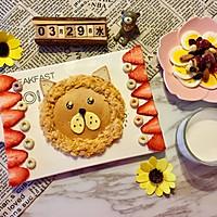 儿童早餐—狮子吐司的做法图解9