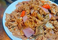 #换着花样吃早餐#黑椒洋葱炒肥牛的做法