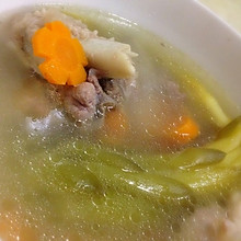 霸王花胡萝卜龙骨汤