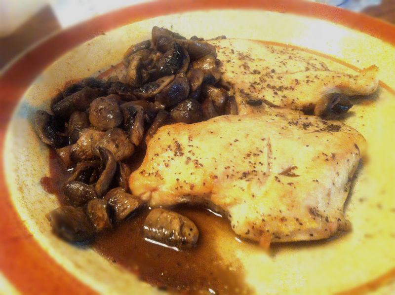 西式蘑菇烤鸡——原汁原味经典搭配