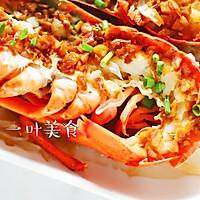 蒜蓉粉丝蒸波士顿龙虾的做法图解11