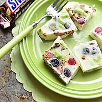 夏日必备---士力架缤纷酸奶块的做法图解12