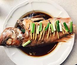 蒸红鱼的做法