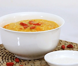 南瓜小米粥-迷迭香的做法