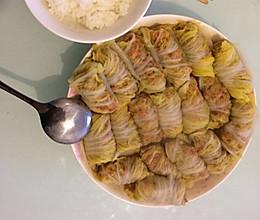 清蒸白菜卷的做法