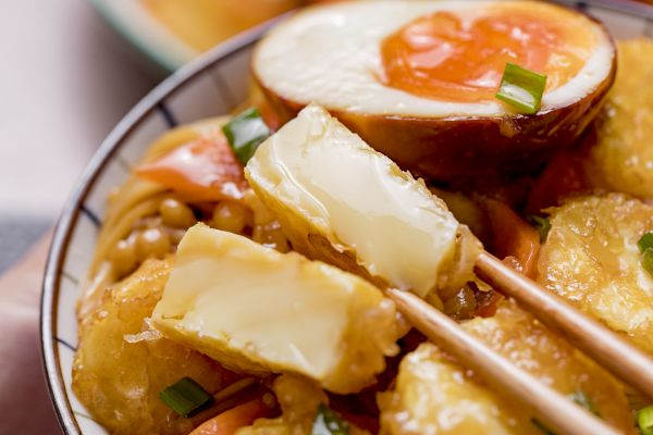 金针菇烧玉子豆腐 | 快手家常的做法