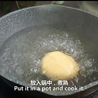 一根香蕉,一碗糯米粉,一块地瓜,就能做出美味的红薯香蕉糯米饼的做法图解11