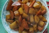 土豆炒火腿肠的做法