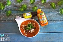 #太太乐鲜鸡汁芝麻香油#番茄豆腐蘑菇汤的做法