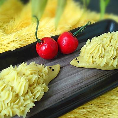 咖喱土豆泥小刺猬