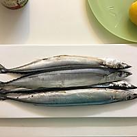 盐烤秋刀鱼--长帝焙Man CRTF32K食谱的做法图解1