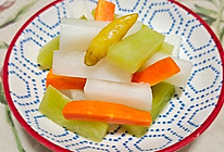 泡菜白萝卜的做法