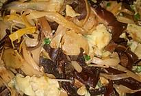 黄花菜木耳炒蛋的做法